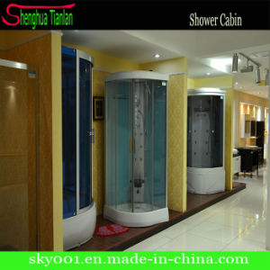 Acrylic Film Steam Fiber Tempered Glass Steam Shower Cabin (TL-8888) pictures & photos