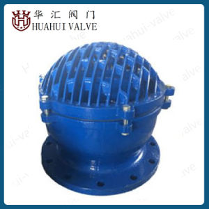 Cast Iron Flange Foot Valve Epoxy Powder Coated Ral5005 Dn50-Dn300