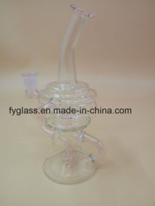 Glass Water Smoking Pipe with Recycler Oil Rigs pictures & photos