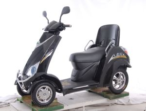 350W Four Wheels Electric Scooter for Old People pictures & photos