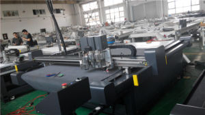 Automatic Cutting Machine Fold Creasing Cut Drawing pictures & photos