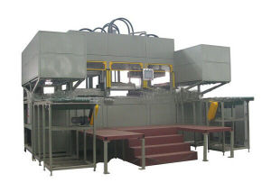 2014 Paper Lunch Box Forming Machine Production Line pictures & photos