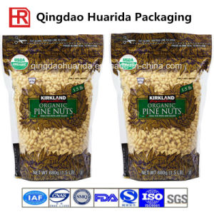 Stand up Food Packaging Pouch with Bottom Gusset pictures & photos