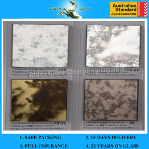 5mm-6mm Frosted Bathroom Antique Mirror Large Mirror Decorative Glass with ISO9001 and AS/NZS2208: 1996 pictures & photos