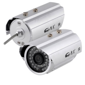 Night Vision Bullet IR 24PCS LED IP66 CCD Sensor 700tvl CCTV Camera System pictures & photos