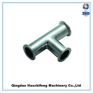Precision Stainless Steel Clamp Tee pictures & photos