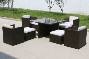 Wicker Furniture Dining Set PRF-9010