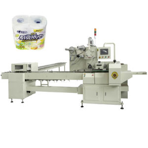 Kitchen Towel Packing Machinery Heat Shrink Paper Package Machine pictures & photos