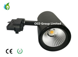 Super Bright 120-130lm/W Flicker-Free 3-Wire or 4-Wire 30W LED Track Lamps with Citizen COB and LED AC200-240V pictures & photos