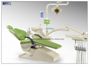 2016 Integral Dental Unit Chair with Left and Right Arms pictures & photos