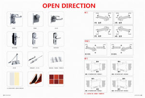 50mm Metal Steel Fireproof Safety Door pictures & photos