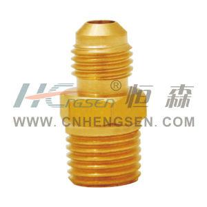 Brass 2 Way Tie-in Refrigeration Parts Air Conditioner Parts pictures & photos