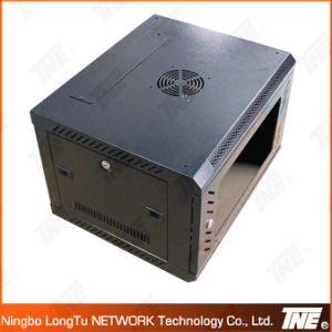 6u 550mm Width Wall Mount Network Cabinet with Flat Pack pictures & photos