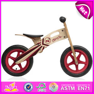 2014 New and Popular Wooden Kid Bike Toys Wooden Toys, Latest Modern Wooden Kid Bike, Hot Sale Balance Wooden Kid Bike W16c083 pictures & photos