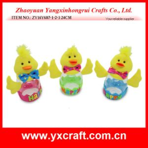 Easter Decoration (ZY16Y687-1-2-3) Easter Chick Egg Bottle Decoration pictures & photos