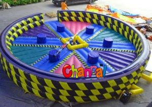 Inflatable Swept Game Eliminate Game Meltdown Zone pictures & photos