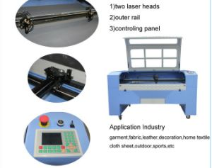 Jinan High Precision Metal Laser CO2 Cutting and Engraving Machine Model Lz-1390ml pictures & photos