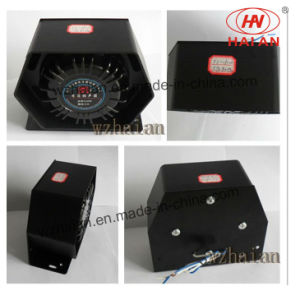 Police Electronic Siren Speaker Hexagonal Cooling Type (E-150W-6-1) pictures & photos