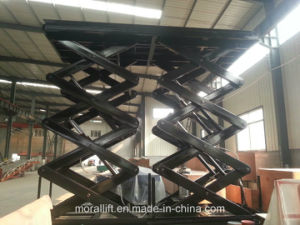 China Full Rise Car Scissor Lift (SJG) pictures & photos
