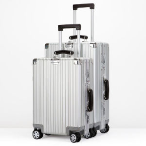 Aluminium Luggage with Black Color pictures & photos