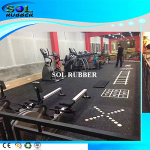 DIY Pattern High Quality Commercial Rubber Flooring pictures & photos