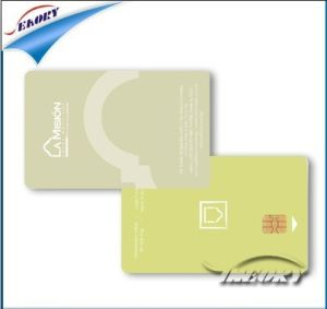 Plastic Sle5528 Contact Smart IC Card pictures & photos