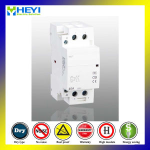 Household Circuit Contactor 40A 2pole 230V 50Hz 2no Electrical Type pictures & photos