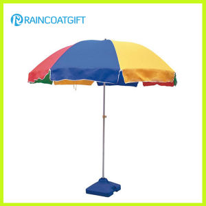 210d Oxford Outdoor Advertising Beach Umbrella pictures & photos