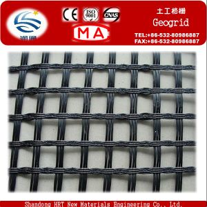 Biaxial Pet Geogrid with CE pictures & photos