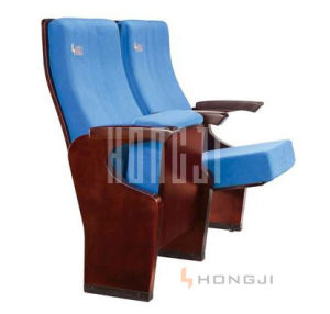 High Quanlity Solid Wood Leg Auditorium Seating pictures & photos