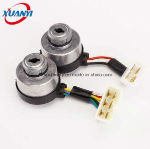 168f/6.5HP/Gx200 Generator Electric Switch Lock & Key Spare Parts pictures & photos