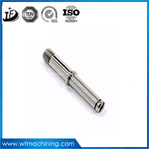 CNC Machining Galvanized Stainless Steel Bill Printer Shaft for Auto Spare Parts pictures & photos