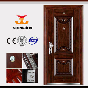 Cheap Metal Doors for House Entrance pictures & photos