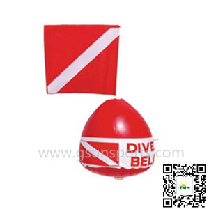 Dive Flag Snorkel PVC Inflatable Snorkelling Water Toys