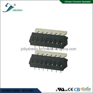 PCB Spring Terminal Block Connector 15A with Black Housing pictures & photos