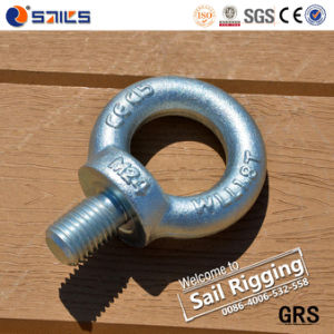 High Strength Steel Drop Forged DIN580 Lifting Eye Bolt pictures & photos