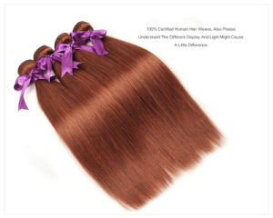 """Peruvian Hair Bundles 100% Human Hair Weave Pure 33 Color 10′′-26′′ Non Remy Hair Extension Free Shipping 18"""" pictures & photos"""