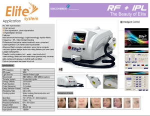 2016 The Highest Effective Elite Hair Removal Treatment Equipment pictures & photos