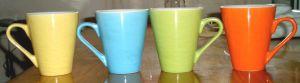 11oz V Shape Solid Color Mug Cup