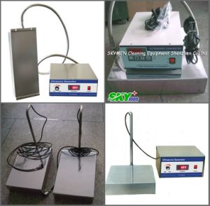 Skymen Submersible Ultrasonic Transducer 300W for Plating Components Cleaning (JTM-1006) pictures & photos