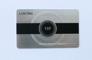 High-End Gold/ Silver Membership Card with Magnetic Stripe