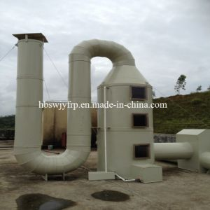 FRP GRP Biogas Purification Gas Wet Scrubber Tower pictures & photos