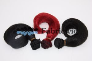 Heat-Resistant Colorful Synthetic Hair Weft Quality Hair Extension pictures & photos