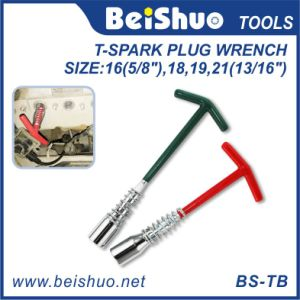 T-Spark Plug T Handle Universal Wrench with Spring pictures & photos