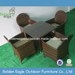 PE Rattan Furniture Outdoor Wicker Furniture Dining Set