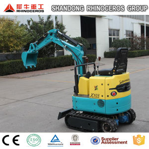 Digging Machine 800kg Mini Excavator Rubber Crawler pictures & photos