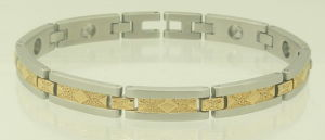 Stainless Steel Bracelet with Healthy Elements (SB-828)