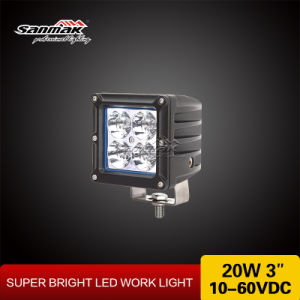 3′′ 20W Waterproof Colorful Cover CREE LED Work Light Sm6203A pictures & photos