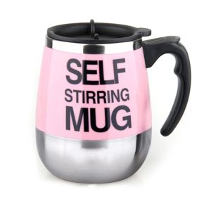 Electric Coffee Mug Self Stirring Double Layer Stainless Steel Self Mixing Cup for Morning, Office, Travelling pictures & photos