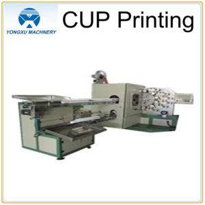 Plastic Cup Printing Surface Offset Press Machine pictures & photos